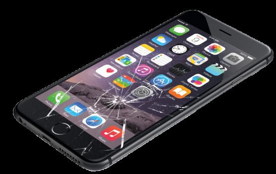 Разбитый дисплей на Айфоне 6